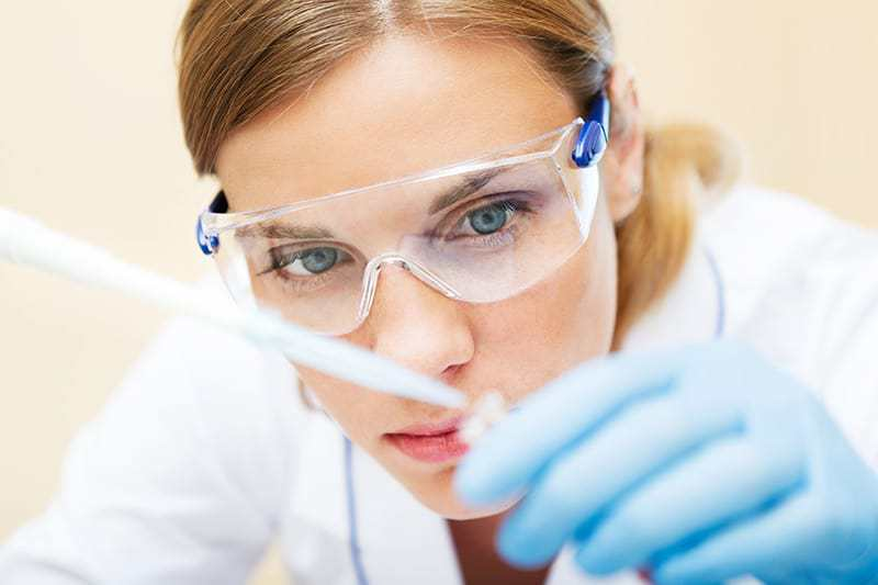 Ocena właściwości fizycznych próbki
